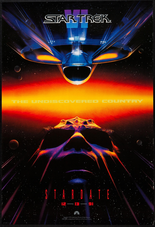 Star Trek V the Final Frontier Official Movie Magazine estados unidos, 1989
