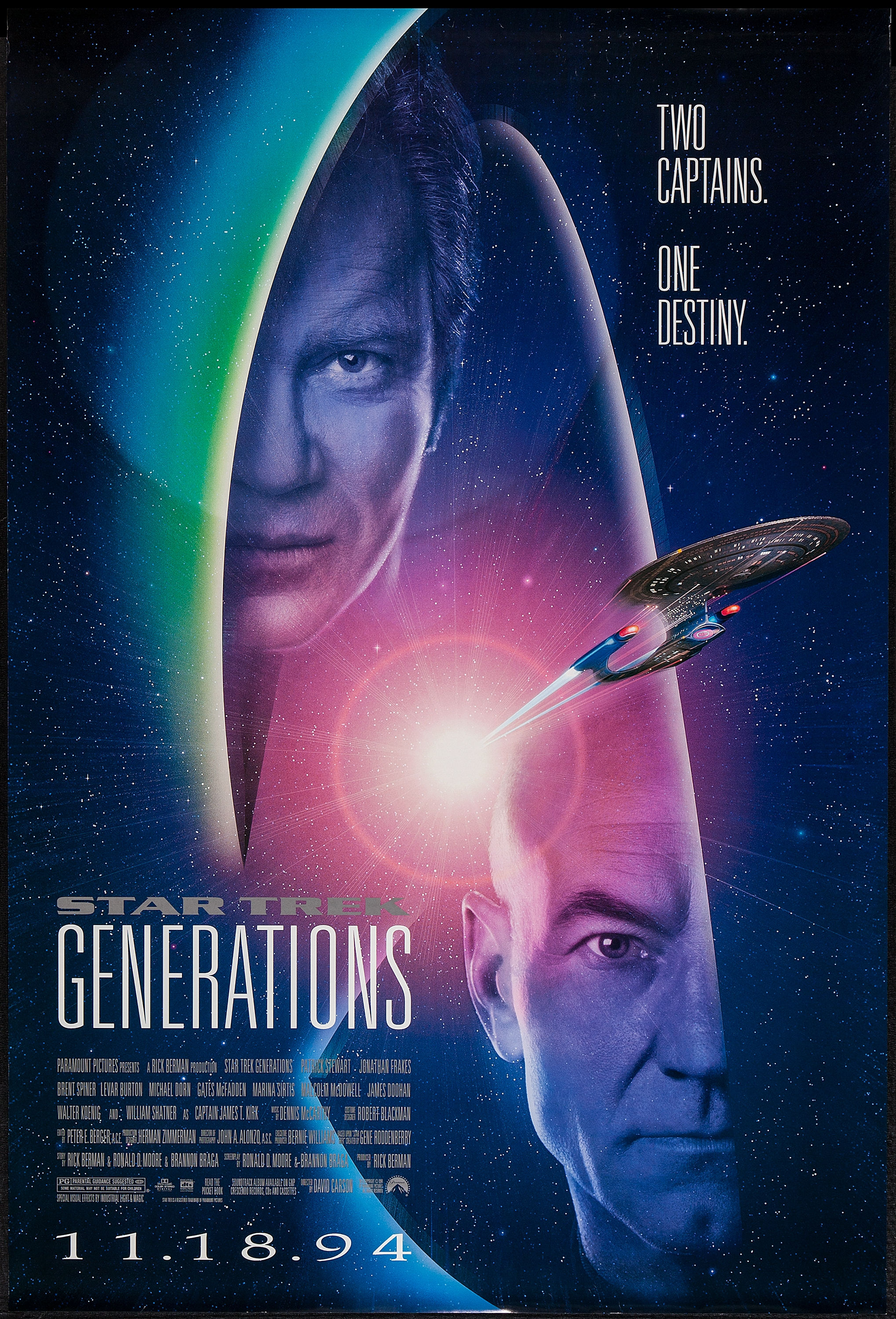 The Star Trek Next Generation Poster Collection