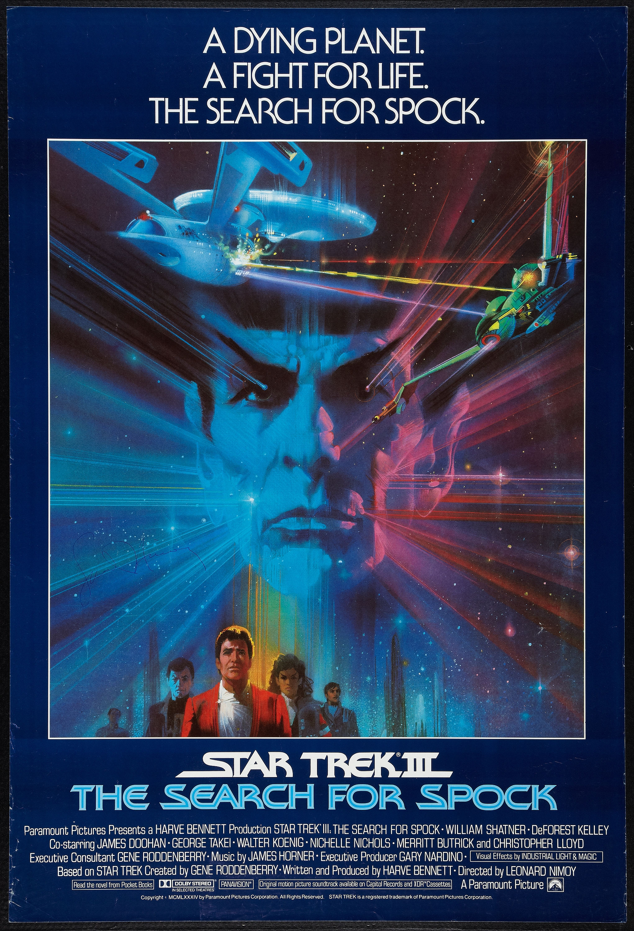 Star Trek III Search For Spock 1984 Movie Poster